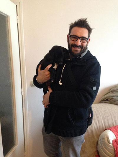 Starsky et son adoptant Acccro'Pattes et Moustaches Clic Animaux