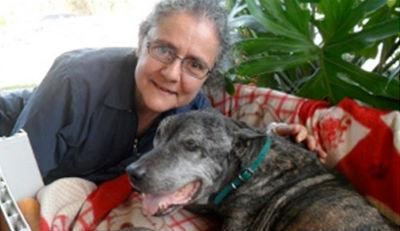 Rachel et son chien, Association animaux de Compagnie